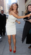 Поппи Монтгомери, фото 358. Poppy Montgomery - at the Early Show in New York 02/28/12, foto 358