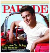 Zac Efron -Parade magazine July 2010