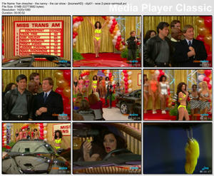FRAN DRESCHER - &amp;quot;The Nanny: The Car Show&amp;quot; - *2-Piece Yellow Swimsuit*