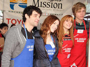 Dani Thorne- Los Angeles Mission's Christmas Eve For the Homeless 12/24/12